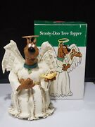 Htf Warner Brothers Scooby Doo Angel Christmas Tree Topper W/box Store Exclusive