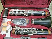 Buffet E12 Bb Clarinet Outfit Made In Germany Grenadilla Wood Ready-to-play