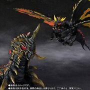 Bandai S.h.monsterarts Battra Adult And Larva Special Color Ver. Action Figure