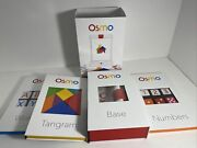 Osmo Starter Kit W/ Base, Tangrams, Numbers, Words, And Coding For Ipad 2-4
