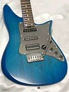 Truth Tea-001 Blue Led Electric Guitar Shipped From Japan