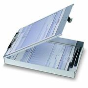 Officemateoic Aluminum Forms Storage Clipboard 8.5 X 12 Inch 83200