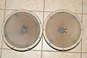 Admiral Console 12 Inch Woofer Pair - From Working Console Stereo - Tested Ok