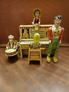 Lil Abner Dogpatch Band Tin Litho Wind Up Toy 1945 Unique Art Manufacturing Co
