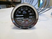 New Smiths Dual Water Oil Gauge For Triumph Tr4 Tr4a Tr6 Tr250
