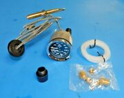 New Smiths Dual Water Temp Oil Gauge Triumph Spitfire W/ Adapter + Install Kit