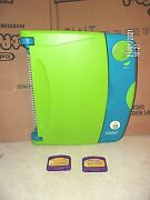 Leap Frog Leap Pad Learning System 2001 Plus 1 Book And 2 Cartridges Works Guc Loo
