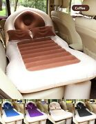 Inflatable Car Bed Back Seat Mattress Air Inflatable Travel Accessories Outdoor
