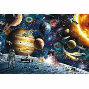 Jigsaw Puzzle Astronaut Puzzle Man In Out Space