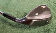 New Rh Cleveland Cg15 60 2-dot 12bounce Black Pearl Non-conforming Wedge
