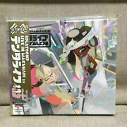 Splatoon 2 Cd Blu-ray Tenta Live In Makuhari First Production Limited Edition