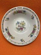 Liling Fine China Yung Shen Ling Rose Round Vegetable Serving Bowl - 9 Inch