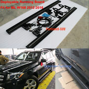 Deployable Electric Running Board Side Steps Fit For Mercedes W166 Ml 2013-2016