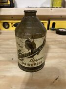 Vintage Leinenkugels Chippewa Pride Beer Crowntainer Cone Top Can Wisconsin Wi
