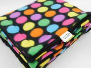 Bright Dot Deluxe Fleece Cage Liners-lofts-cuddle Sacks-beds=peeand Bottle Pads