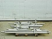 Stainless Steel Dn50kf Tubing - Lot Of 135 Ft - Id 47mm / 1.85 Od 51mm / 2