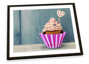 Candy Cup Cake Kitchen Framed Art Print Picture Poster Artwork