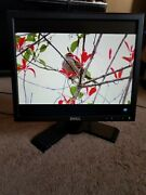 Dell 1708fpt Tft Lcd 17 Flat Panel Ultra Sharp Monitor With Sound Bar Used