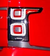 Land Rover Oem 2018+ Range Rover L405 Clear Taillight Pair Nas With Side Markers