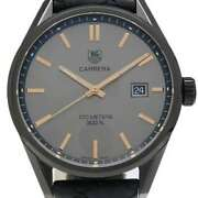 Free Shipping Pre-owned Tag Heuer Carrera Cara Delevingne Limited Model War101a
