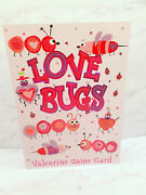 Happy Valentines Day Card Love Bugs Maze Game American Greetings