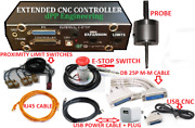 Extended Functions For Sherline Cnc Controller + Dig Probe + Usb Cnc + Prox Sw.