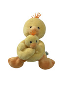 Russ Sunshine Duck And Baby Plush Easter Chicks Gift