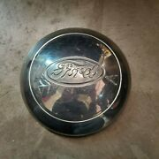 1936 Ford Deluxe Spare Tire Cover/continental Kit Hubcap Oem 1935 1934 1933
