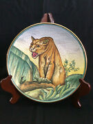 Veneto Flair 1972 The By Tiziano Hand Etched Painted Collector Plate Italy