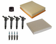 Denso Filters 4 Ignition Coils And 4 Spark Plugs Tune Up Kit For Kia Optima 2.4 L4