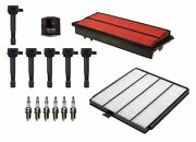 Denso Filters 6 Ignition Coils 6 Spark Plugs Tune Up Kit For Acura Honda 3.5l V6