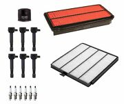 Denso Filters 6 Ignition Coils And 6 Spark Plugs Tune Up Kit For Honda 3.5l V6