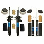 Sachs Front Strut Rear Shock And Mount And Bellow Kit For Bmw E46 3-series Standard