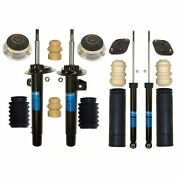 Sachs Front Strut Rear Shock And Mount And Bellow Kit For Bmw E46 325i 2.5l L6 Sport