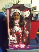 My Life As Hello Kitty Doll African American 9pc Set Fedex 2 Day Shipping