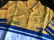 Authentic Michael Schumacher Signed Camel Benetton Ford F1 Team Issue Shirt