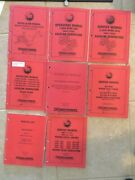 Multiple Westerbeke Manuals Service Technical Operatorparts. Gas And Diesel