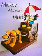 Disney Store 1933 Building A Building Mickey Minnie Pluto Box Lunch Figure