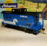 Ho Athearn Conrail 4 Window Caboose Car, For Train Set, New Rtr Series