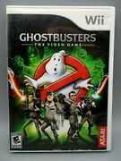Ghostbusters The Video Game Nintendo Wii Game Case And Manual Tested And Works