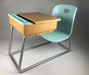 Our Generation Blue School Chair And Desk
