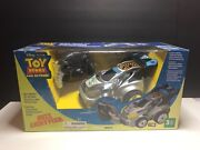 Toy Story Remote Control Car Set Buzz Lightyear Of Star Command Ultra Rare