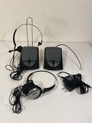 Plantronics S12 Telephone Headset System Hands Free Office Or Home Bundle