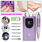 Best Gift Electric Nail Drill Machine 35000rpm Nails Art File Gels Removal L1515