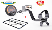 Metal Detector Clone Pi-w Waterproof Coil + Depth Frame Search Depth Up To 3m