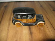 Reproduction Arcade Yellow Taxi Cab Co. Cad 3333 Cast Iron Toy With Driver