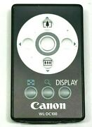 Canon Wl-dc100 Remote For Powershot G1 G2 G3 G5 Power Shot Pro1