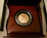 Royal Mint Decimal Day 2021 50p Gold Proof Coin - Limited Edition