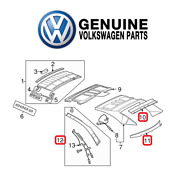 Genuine Upper Lower Back Glass Trim And Roof Trim Kit For Volkswagen Eos 2007-2016