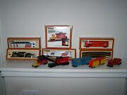 Tyco Vintage Ho Train Set With Track Engine Cars And More